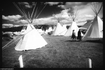 Sea of tipi